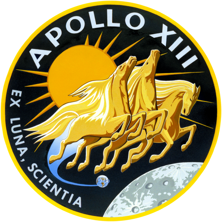 Apollo 13 Official Mission Patch